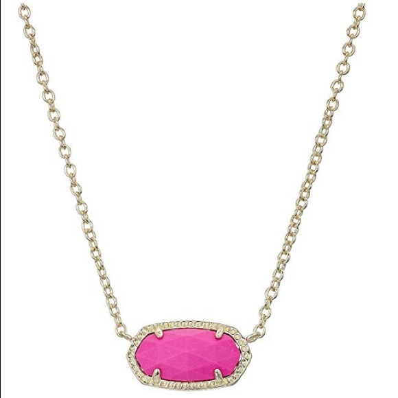 Kendra Scott Jewelry - NEW Kendra Scott Elisa Pendant Necklace in Magenta
